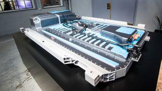 Batteri fra Mercedes EQC.