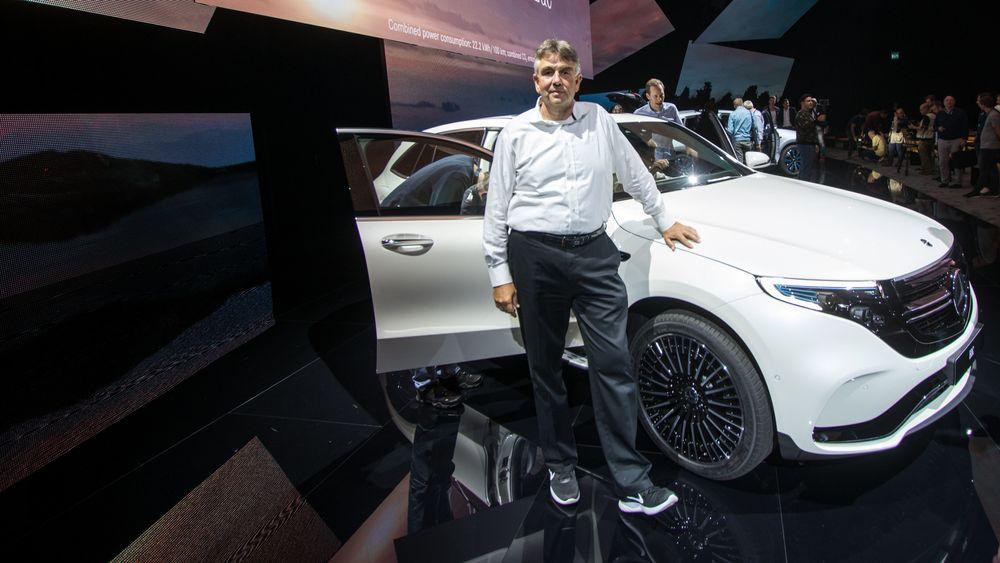 Michael Kelz, sjefingeniør for EQC og C-klasse hos Mercedes-Benz.