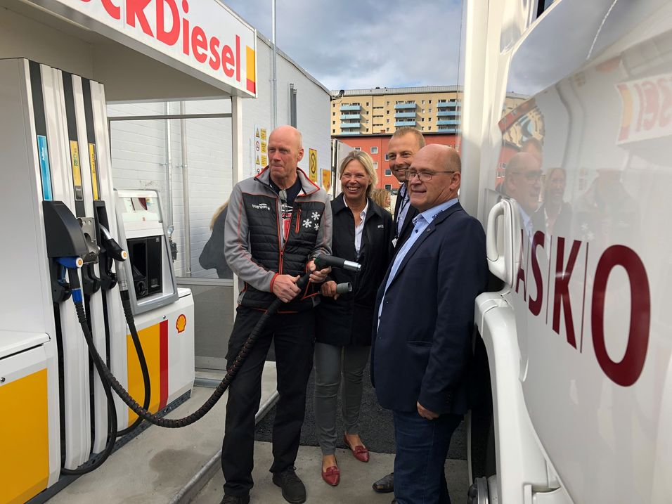 RED95-tanking på Shell Grorud.