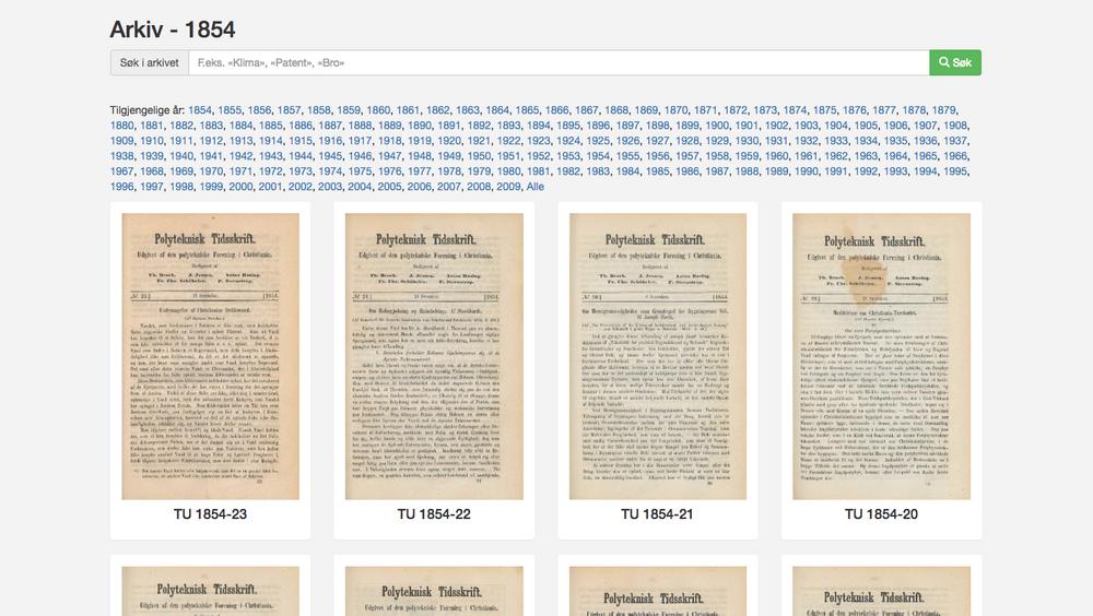 Mye teknologihistorie har ligget gjemt i TUs 164-årige arkiv. Ekstra-abonnenter har tilgang til hele historien.