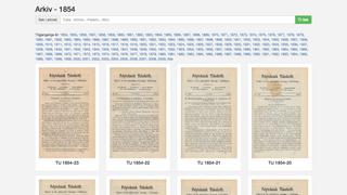 Nå kan digitale abonnenter lese arkivsaker tilbake til 1854