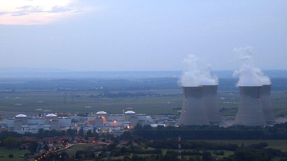 En av reaktorene ved Bugey-kjernekraftverket måtte stenge på grunn av hetebølgen i sommer.