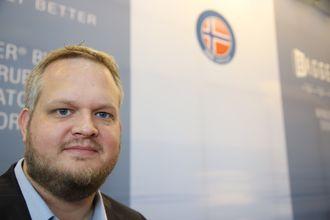 Edvin Tunheim Tønnessen i Teamtec har ansvar for salg og prosjekter med Oceansaver.