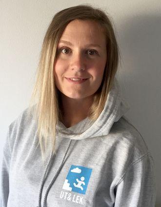 Malin Herwander Steensnæs fikk ideen til appen da hun alltid endte opp på den samme slitte lekeplassen.