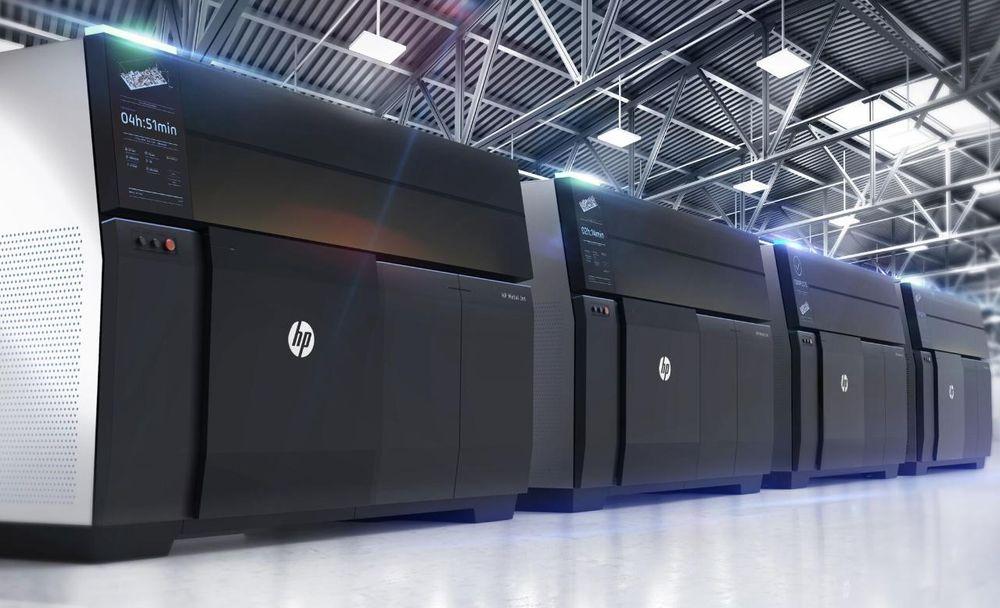 Den nye delefabrikken: HP vil revolusjonere metoden vi fremstiller deler i metall.
