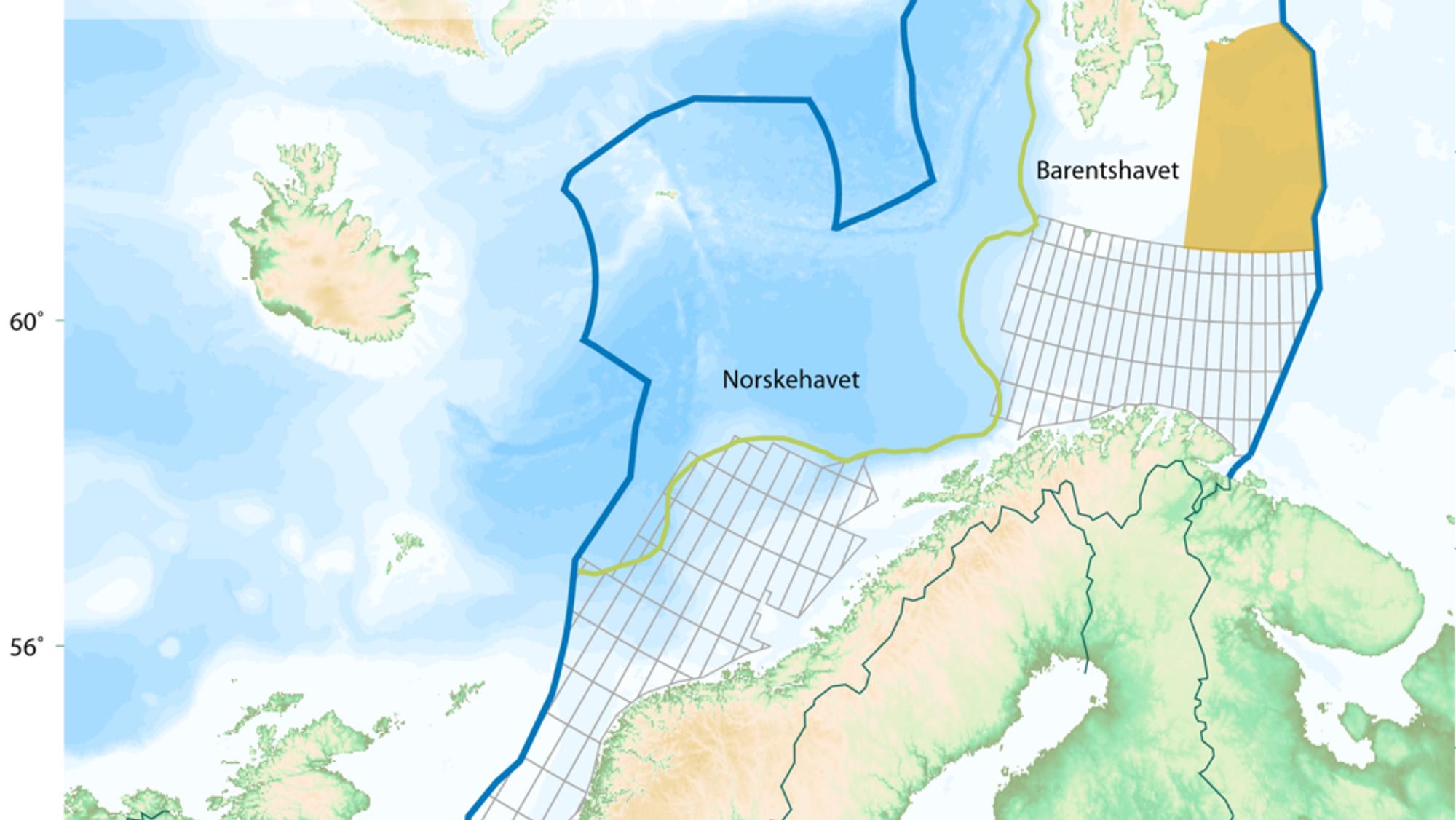 Regjeringen vil bevilge penger til kartlegging av nye områder i Barentshavet med tanke på oljeleting.