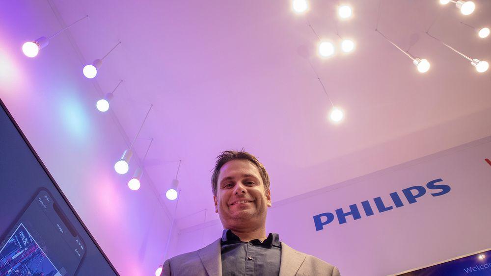 Lysende ingeniør: Teknologisjef for Signify, bedre kjente som Philips LIghtning, Georg Yianni, har store forhåpninger til hvordan