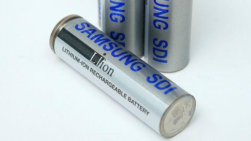 Samsung SDI litiumion-celler.