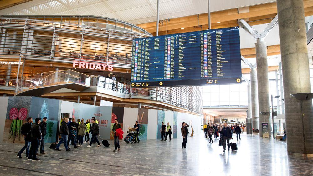 Tidligere i år åpnet nye Oslo lufthavn på Gardermoen. I 2022 skal nye 30000 kvadratmeter være ferdig.
