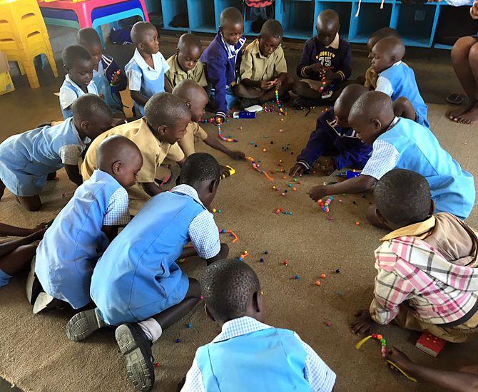 En barnehageplass bidrar til at noen av barna får en trygg barndom og at de er godt forberedt til skolestart når den tid kommer