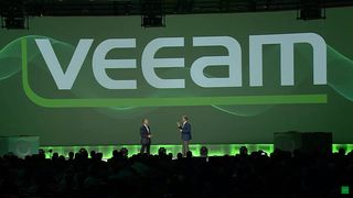 Fra keynoten under VeeamON 2017-konferansen til Veeam.
