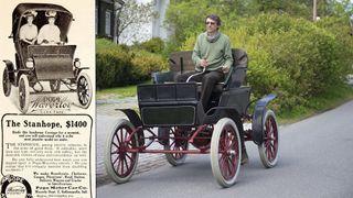 Norges eldste elbil ga rekkeviddeangst allerede i 1902. Fremdeles skremmer den vettet av eieren