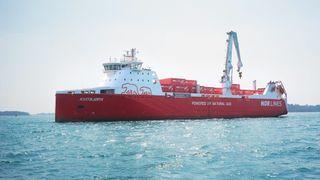 Nytt instrument på godsskip skal bidra til utslippskutt tilsvarende 100 personbiler per skip