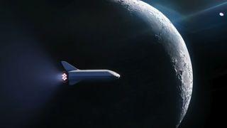 Elon Musk avslørte hvem som skal få fly rundt månen som turist