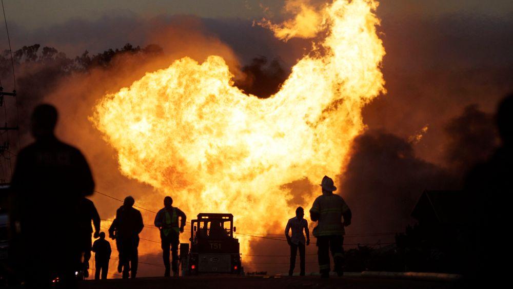 I 2010 ble et nabolag i San Bruno, California herjet av voldsomme branner etter at en gassrørledning eksploderte.