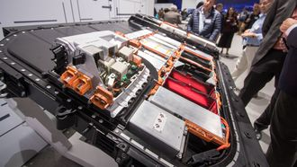 Batteriet har 95 kilowattimer kapasitet.