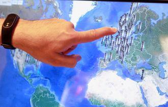Kundene kommer fra hele verden. Dette interaktive kartet viser en oversikt over hvor i verden gjærlåsene er tatt i bruk.