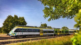 Tyskland får snart sitt første batteritog. Rekkevidde: 40 kilometer