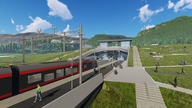 Regjeringen bestemte nylig traseen for Ringeriksbanen og ny E16 – nå reduserer de bevilgningene med 278 millioner