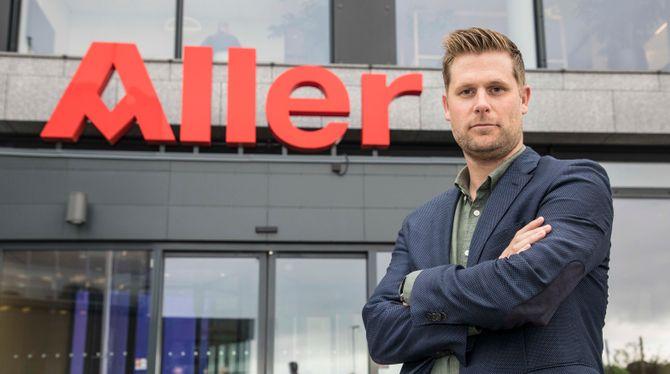 Videodirektør Mads A. Andersen i Aller Media.