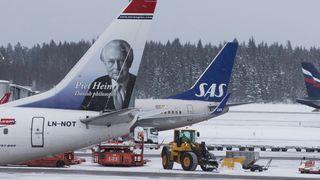 Oslo lufthavn tester selvkjørende brøytebiler
