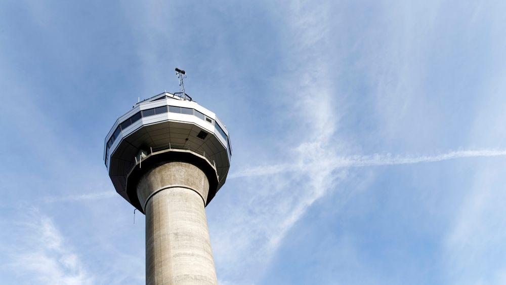 Flytårnet på Værnes lufthavn, 2016.