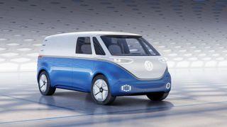 Volkswagen ID Buzz Cargo.
