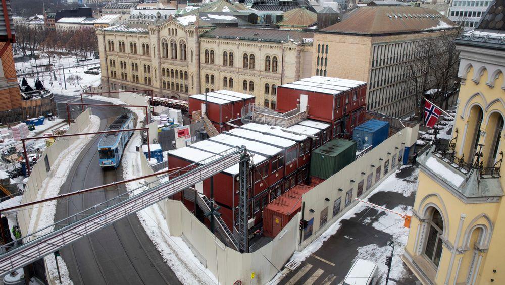 Oppgraderingen av Wessels plass ved Stortinget blir langt dyrere enn tidligere antatt, ifølge Aftenposten.