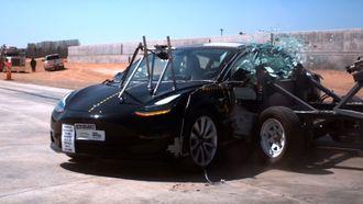 NHTSA har kollisjonstestet Model 3.