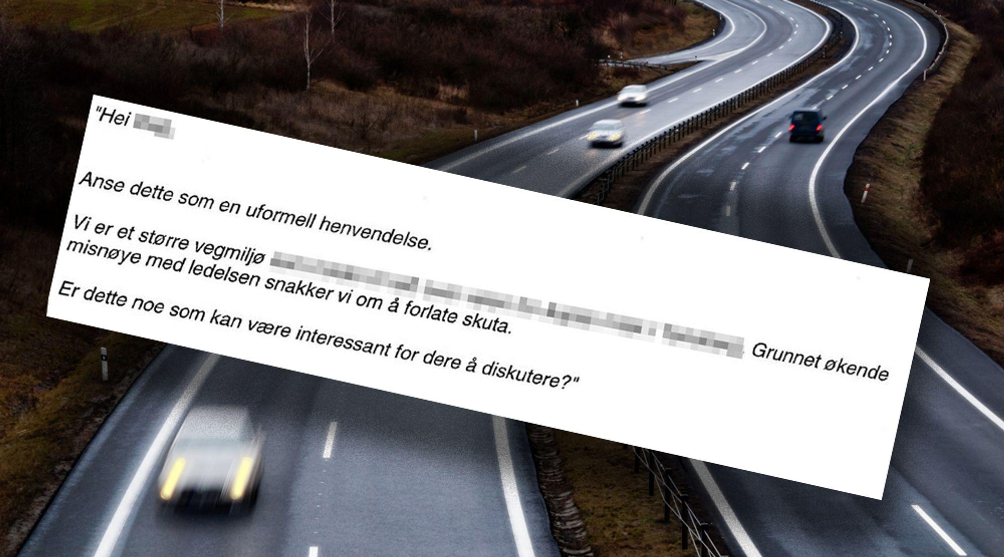Sivilingeniøren ble sagt opp fra Rambøll etter at han sendte en epost med denne ordlyden til en konkurrent.