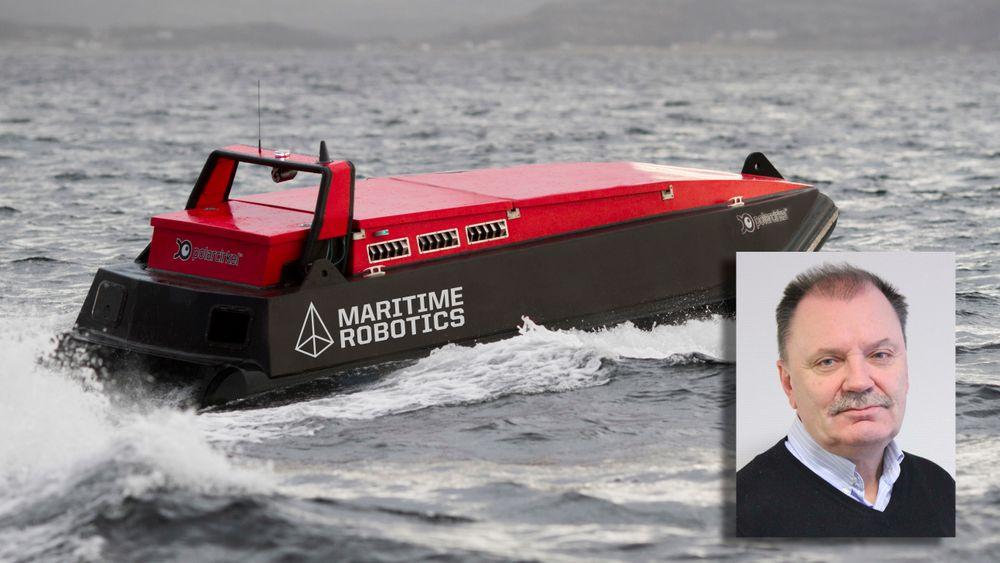 Vår gjest: Geir Olav Kjøsnes i Maritime Robotics.