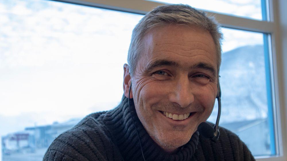 UKENS GJEST: Direktør i Store Norske Spitsbergen Kullkompani, Jan Morten Ertsaas.