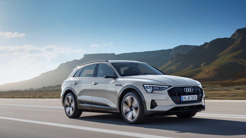 Den kommende elbilen Audi E-tron