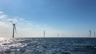 Nå produserer Equinors tyske havvindpark strøm