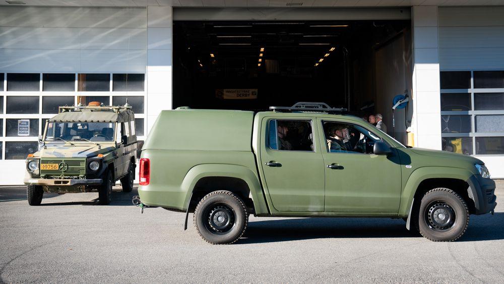 I september 2018 ble kontrakten signert for bestilling av 350 Volkswagen Amarok til Heimevernet. Konkurrenten har klaget anbudsprosessen inn for Kofa (Klagenemnda for offentlige anskaffelser).