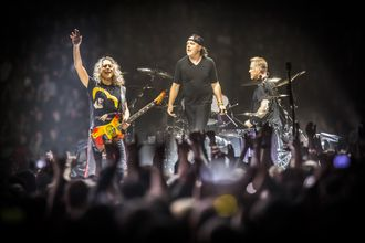 Det amerikanske heavy metal-bandet Metallica spilte på Telenor Arena onsdag tidligere i år.