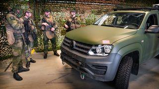 Konkurrent: Forsvaret hadde bestemt seg på forhånd for VW Amarok som feltvogn
