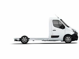 Renault Master Z.E. kommer også som chassis som kan tilpasses.