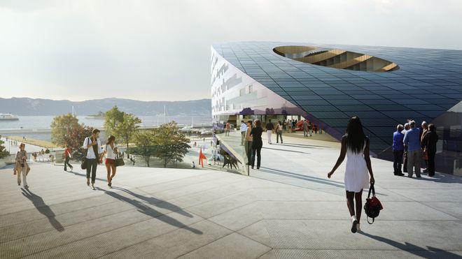Powerhouse i Trondheim: Dette taket skal gi strøm til naboene