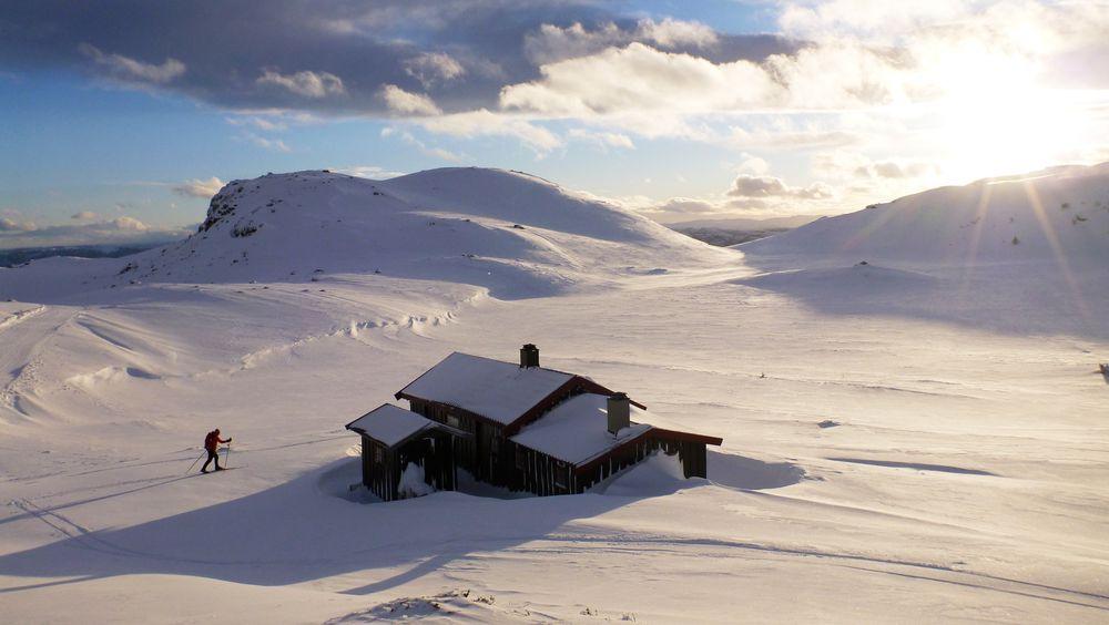 Prisene på fjellhytter varierer veldig i landet. I Sigdal, hvor denne hytta ligger, var snittprisen på 1.537.000 kroner i perioden 2014–2017.