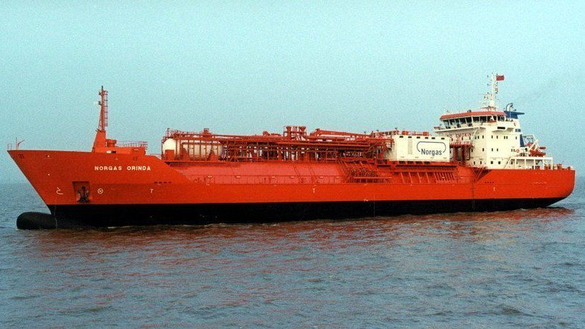 Gasskipet Norgas Orinda var et av seks skip med LNG-teknologi som ble bestilt av IM Skaugen i 2009. Nå ser det ut til å gå mot slutten for rederiet.