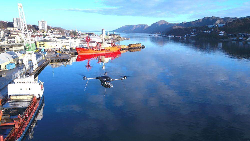 Sjøfartsdirektoratet testet droner for å avsløre svovelsyndere i sommer.