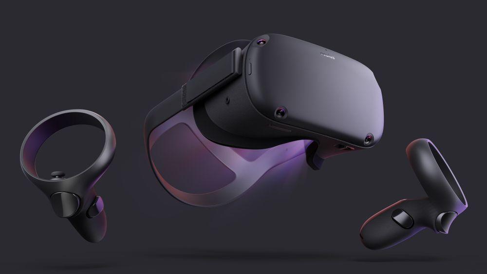 TRÅDLØST: Nye Oculus Quest kommer til våren.