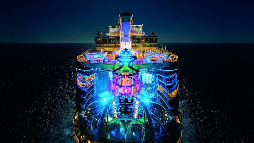 Harmony of the Seas, verdens nest største cruiseskip.