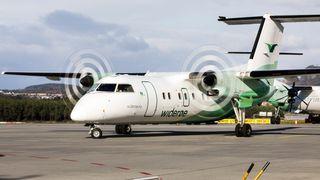 Problemer for Widerøe - 10 fly er ute av drift