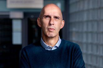 Redaktør Frank Gander i dokumentar- og samfunnsavdelingen i NRK