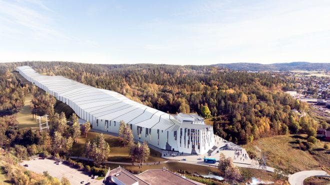 Norges første innendørs skihall: – Vi bygger på toppen, i midten og i bunn samtidig for å komme i mål