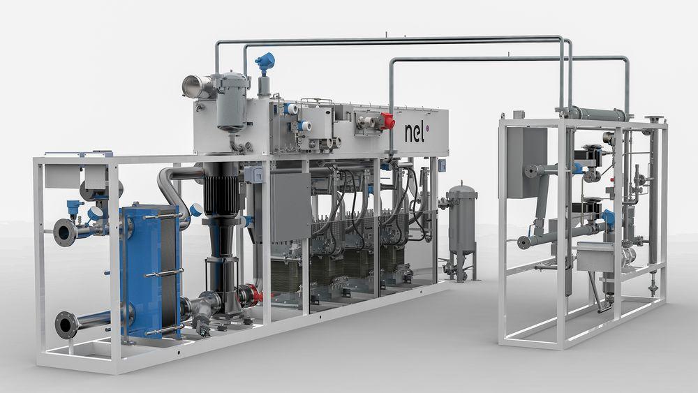 P2G: NELs elektrolyseanlegg skal bruke overskuddsenergi fra solkraft til å produsere hydrogen.