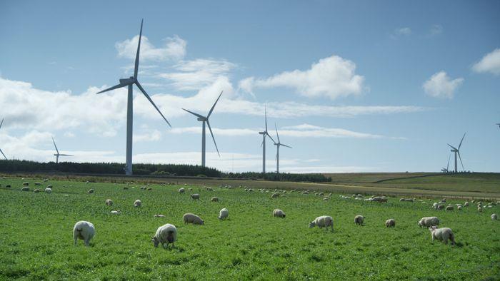Vindmøller, vindkraft, Statkraft, Skottland