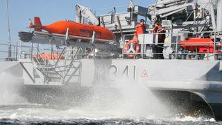 Norge er med i Nato-samarbeid: Skal utvikle ubemannede fartøy for å jakte miner og ubåter